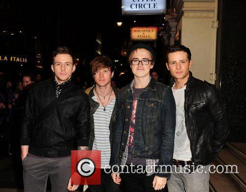 Mcfly, Danny Jones, Tom Fletcher and London Palladium 6