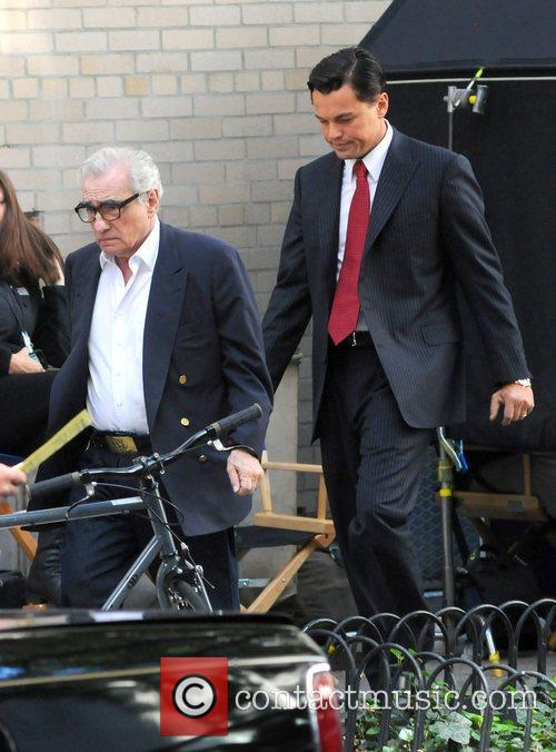 Leonardo Dicaprio, Martin Scorsese, The Wolf, Wall Street and Manhattan New York City 11