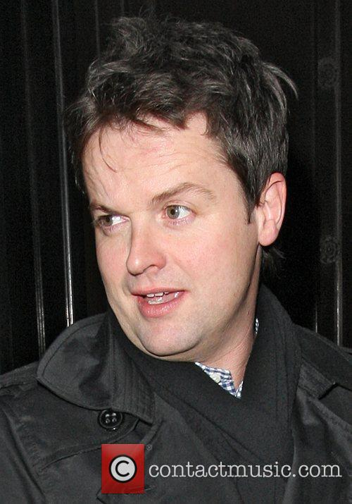 Declan Donnelly leaves the Wolseley
