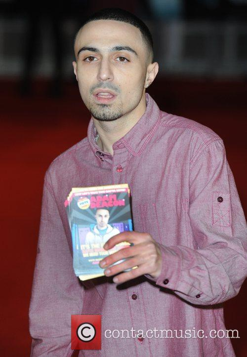 Adam Deacon at the premiere of The woman...