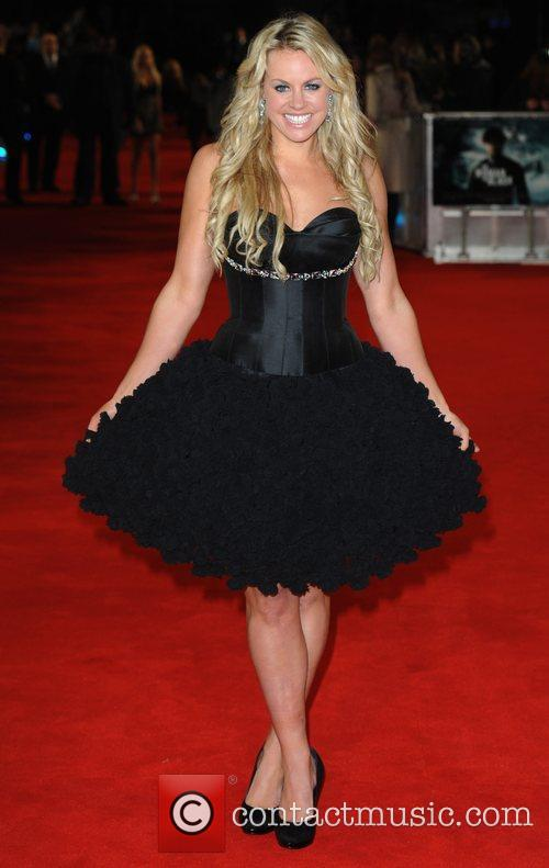 Chemmy Alcott at the premiere of The woman...