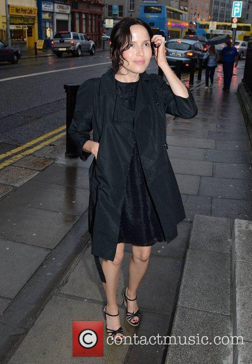 Andrea Corr Opening night of the Oscar Wilde...