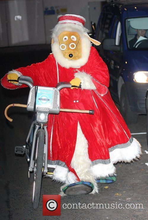 Great Uncle Bulgaria of The Wombles ride on...
