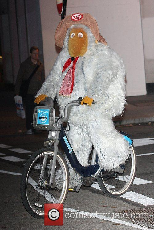Orinoco of The Wombles ride on Barclays Cycle...