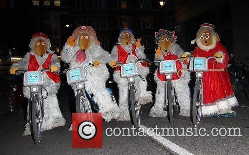 The Wombles ride on Barclays Cycle Hire better...