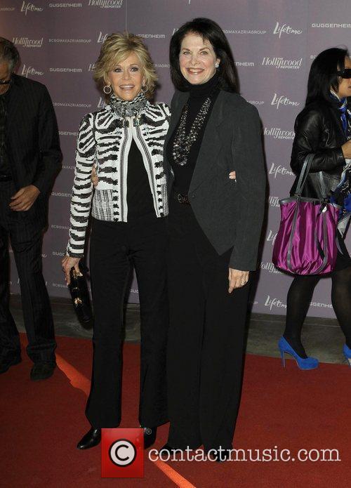 Jane Fonda and Sherry Lansing 5