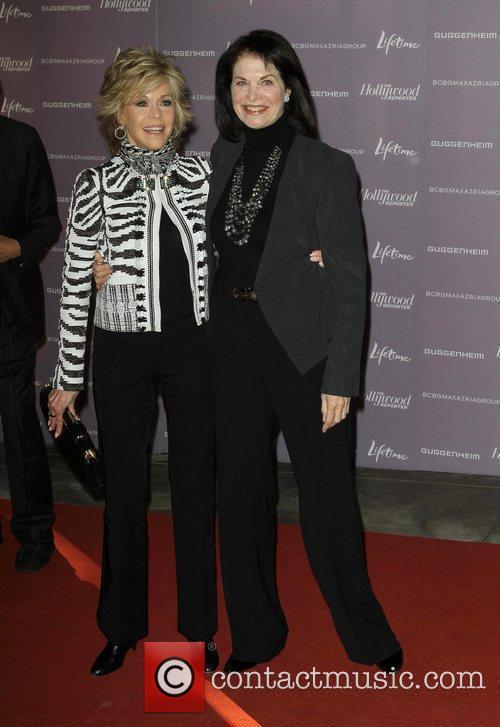 Jane Fonda and Sherry Lansing 4