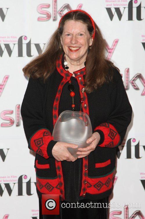 Anna Scher, winner of Skillset Inspirational Women Award...
