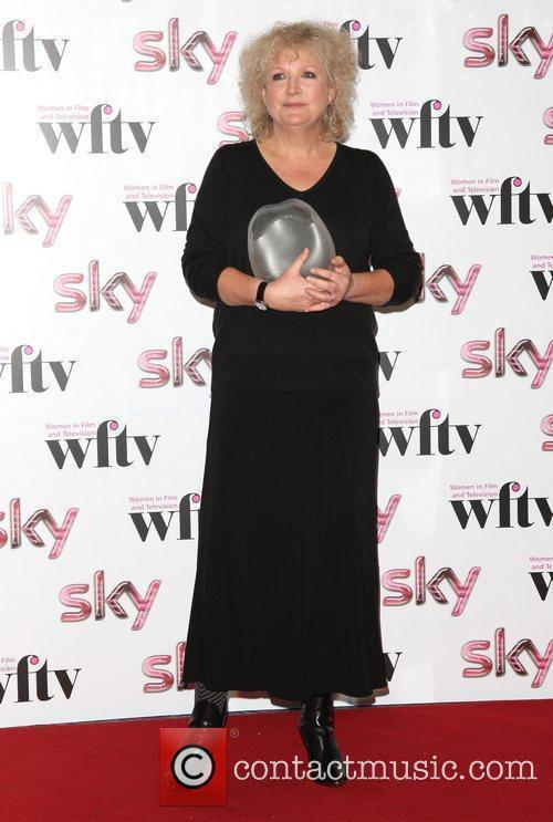 Mandie Fletcher winner of Deluxe London Director Award...