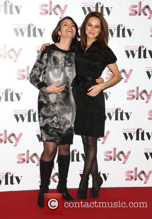 Victoria Boydell and Kara Tointon winner of the...
