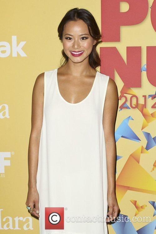 Jamie Chung and Beverly Hilton Hotel 2