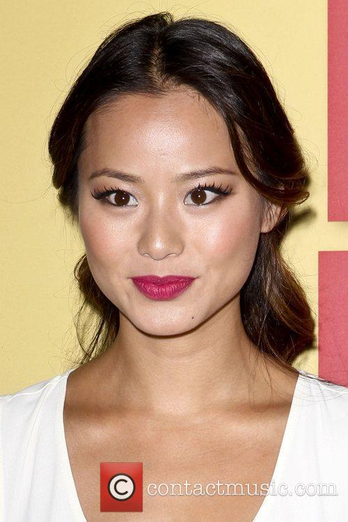 Jamie Chung and Beverly Hilton Hotel 1