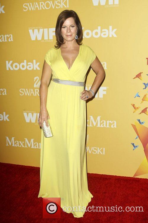 Marcia Gay Harden and Beverly Hilton Hotel 3