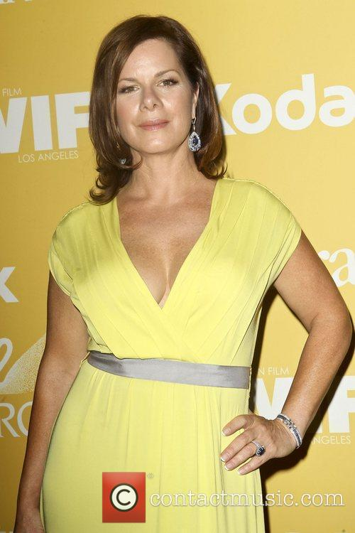 Marcia Gay Harden and Beverly Hilton Hotel 6