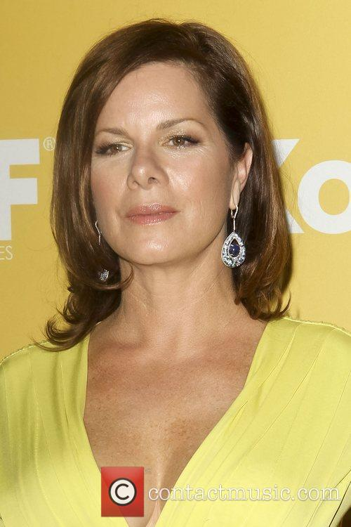 Marcia Gay Harden and Beverly Hilton Hotel 8
