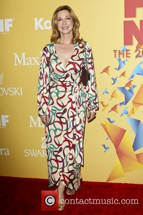 Sharon Lawrence and Beverly Hilton Hotel 2