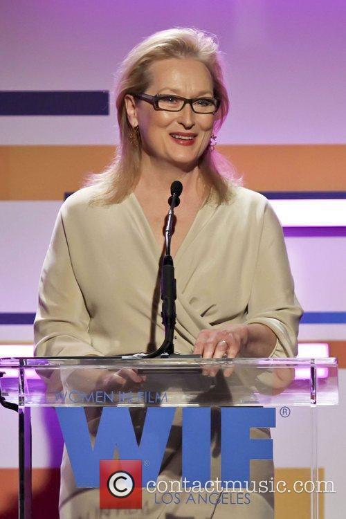 Meryl Streep and Beverly Hilton Hotel 12