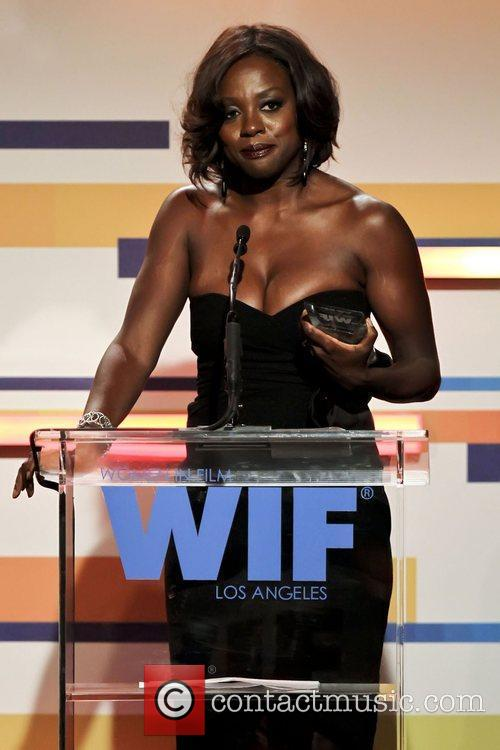 Viola Davis and Beverly Hilton Hotel 6