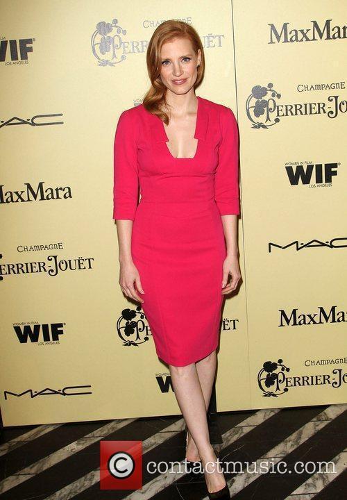 Jessica Chastain 5th Annual Women In Film Pre-Oscar...