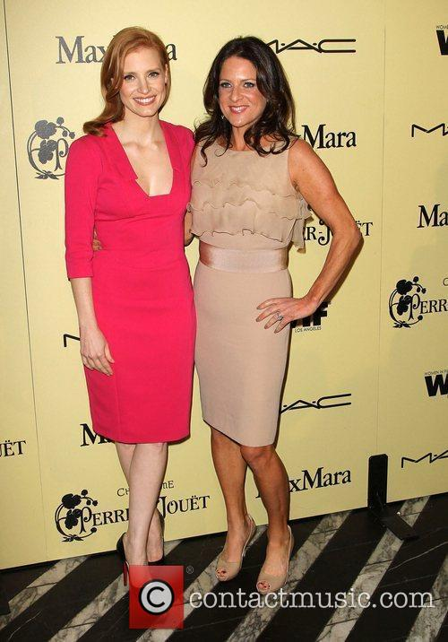 Jessica Chastain and Cathy Schulman 3