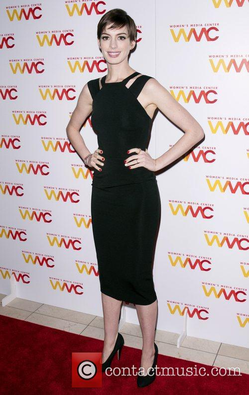 Anne Hathaway  The 2012 Women's Media Awards...