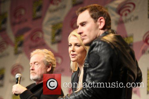 Michael Fassbender and Charlize Theron 5