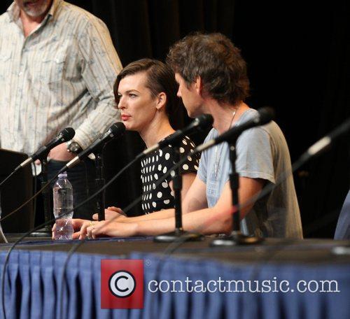 Milla Jovovich Wondercon 2012 - 'Resident Evil' press...