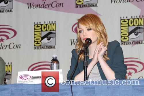 Emma Stone Wondercon 2012 - 'The Amazing Spiderman'...