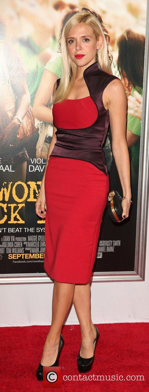 Anastasia Ganias,  at the New York premiere...