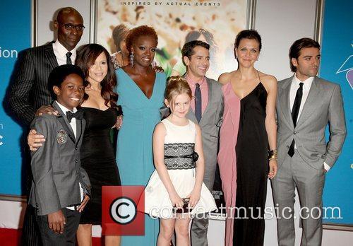 Cast, Rosie Perez, Lance Reddick, Dante Brown, Daniel Barnz, Emily Alyn Lind, Viola Davis, Maggie Gyllenhaal and Oscar Isaac 2