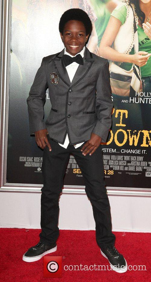 Dante Brown,  at the New York premiere...