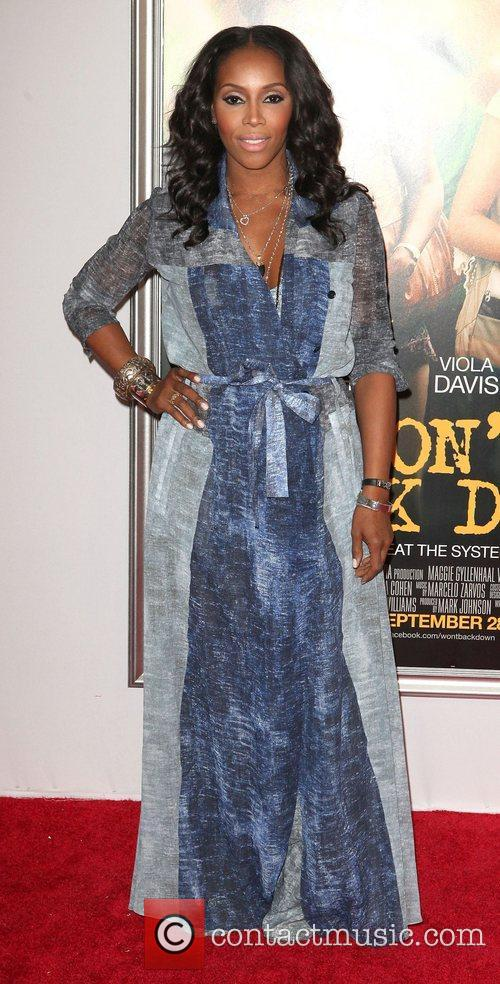 June Ambrose,  at the New York premiere...