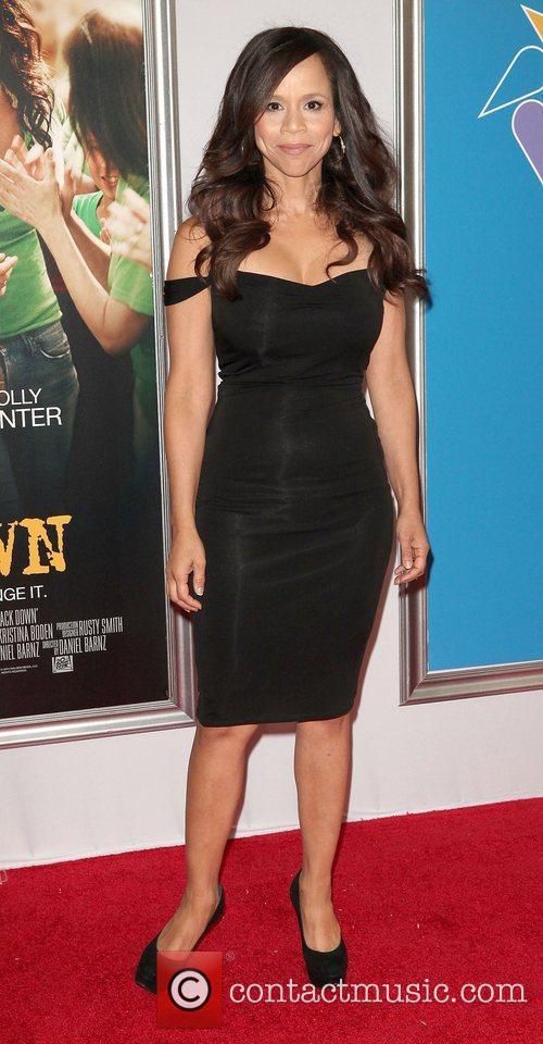 Rosie Perez,  at the New York premiere...