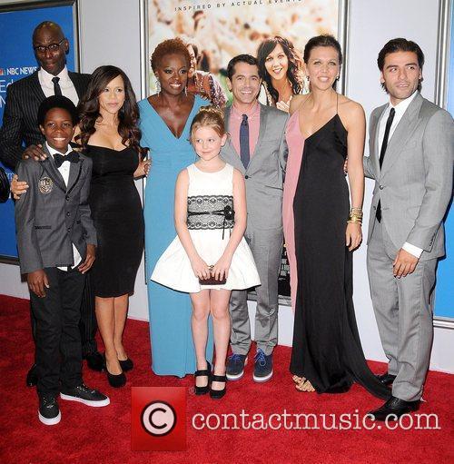 Cast, Rosie Perez, Lance Reddick, Dante Brown, Daniel Barnz, Emily Alyn Lind, Viola Davis, Maggie Gyllenhaal and Oscar Isaac 1