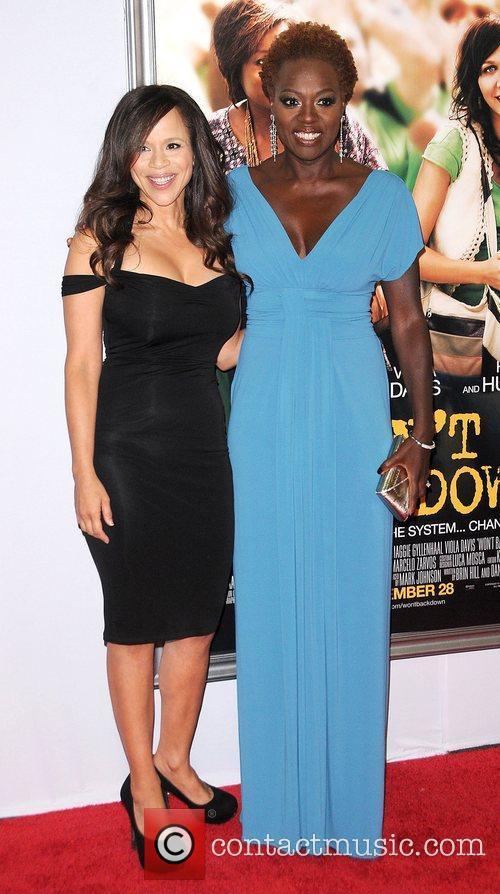Rosie Perez and Viola Davis,  at the...