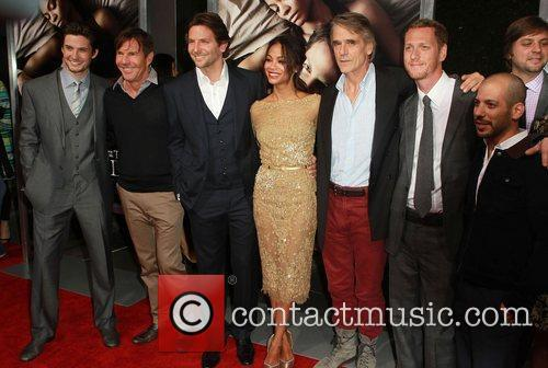 Ben Barnes, Bradley Cooper, Dennis Quaid, Jeremy Irons and Zoe Saldana 1