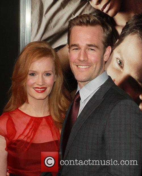 James Van Der Beek and Kimberly Brook 1
