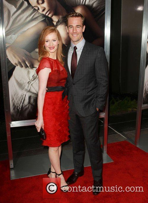 James Van Der Beek and Kimberly Brook 2