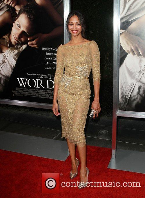 zoe saldana at the premiere of cbs 4058552