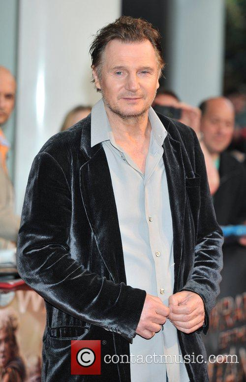 Liam Neeson UK film premiere of 'Wrath of...