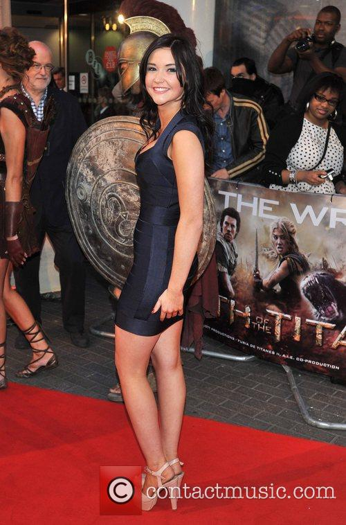 Jacqueline Jossa UK film premiere of 'Wrath of...