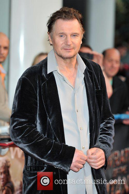 Liam Neeson Wrath of the Titans - UK...