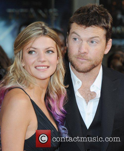 Sam Worthington and girlfriend Crystal Humphries 'Wrath Of...