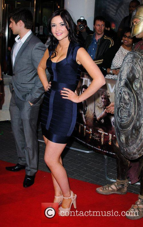 Jacqueline Jossa 'Wrath Of The Titans' UK film...