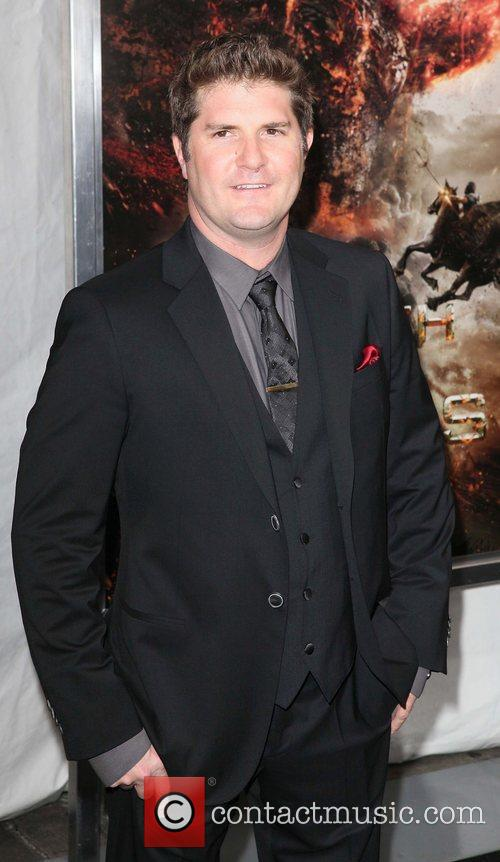 Director, Jonathan Liebesman,  at the world premiere...