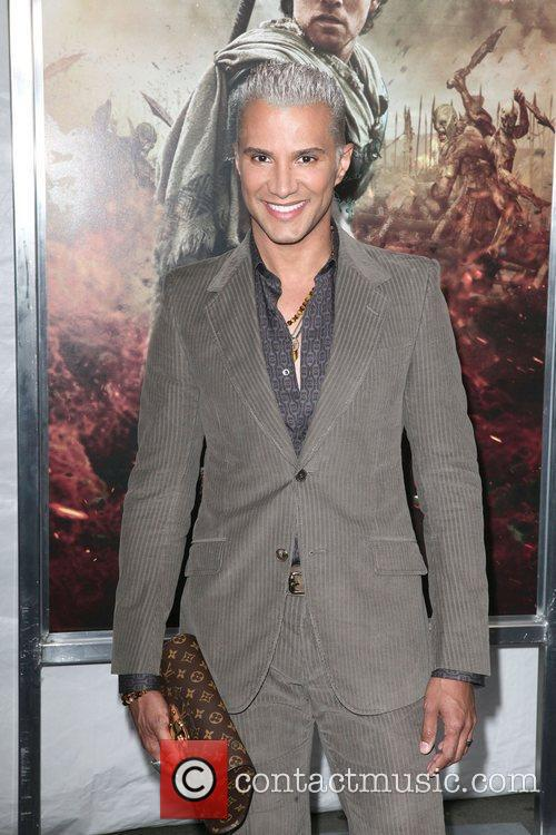 Jay Manuel at the world premiere of 'Wrath...