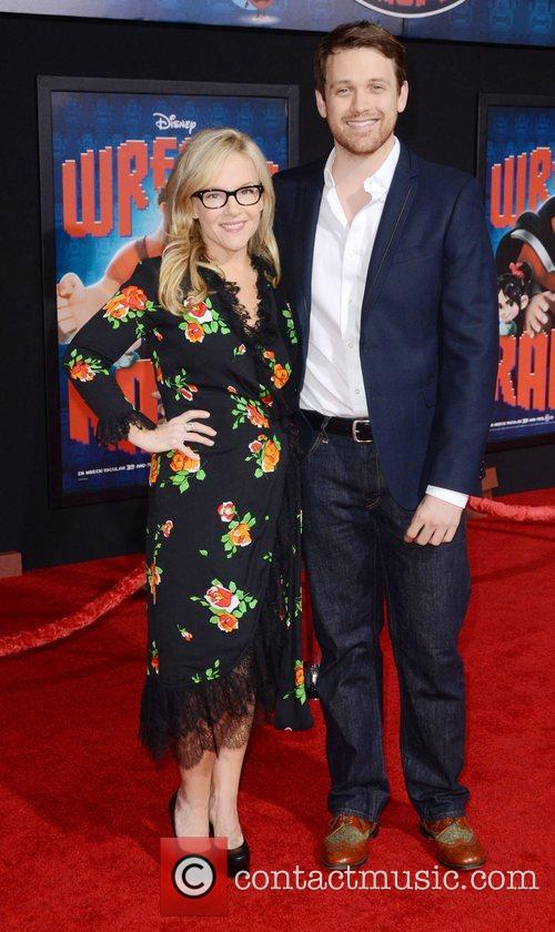 Rachael Harris and Michael Arden