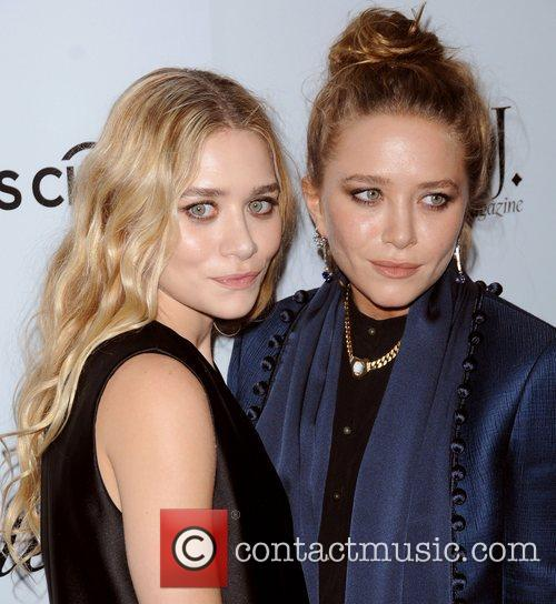 Mary-Kate Olsen and Ashley Olsen at the WSJ...
