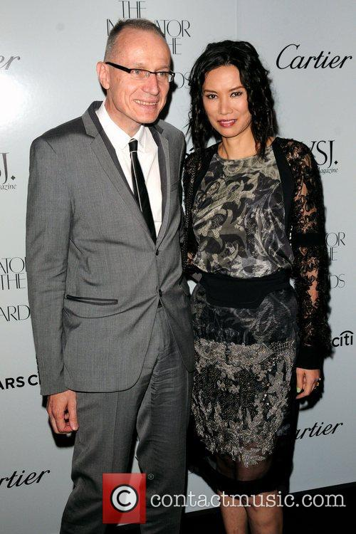 Robert Thomson and Wendi Deng Murdoch WSJ Magazine's...
