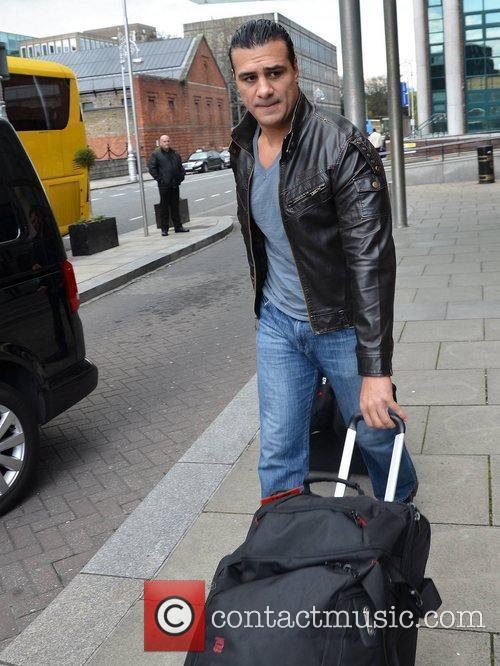 Roberto Del Rio WWE wrestlers outside of their...